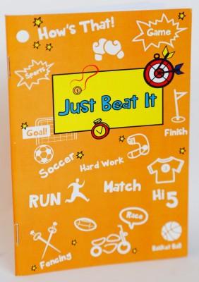 Blitzen A6 Memo Book(JBI Set 5, Orange, Pack of 5)