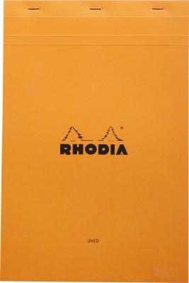 Rhodia A4 Note Pad(Basics Orange - No. 19 - A4+ 318 mm x 210 mm, Orange)
