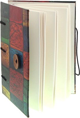 Craft Club Regular Writing Pad(Colourful Blocks In Special Binding Notebook, Multicolour)