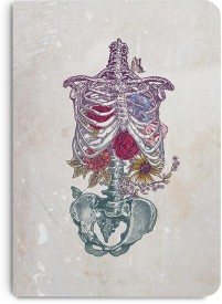 DailyObjects Rib Cage A5 Notebook Paper Back