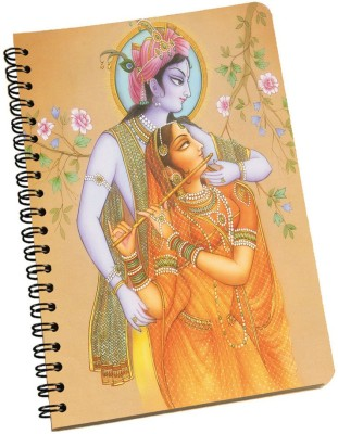 meSleep A5 Notebook(Radha Krishna NBA5-01-006, Multicolor)