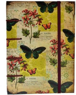 Craft Play Regular Notebook(Special Binding Fauna Print, Multicolor)