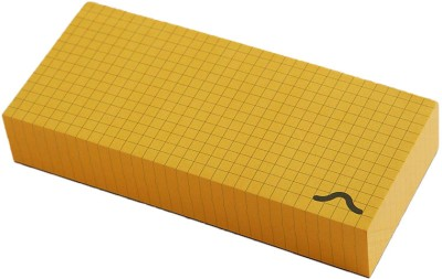 Rubberband Memo Pad(Memo Block, Yellow)