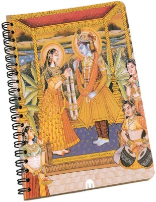 meSleep A5 Notebook(Radha Krishna NBA5-01-026, Multicolor)