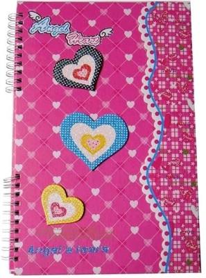 BJ A5 Writing Pad(Angel Heart, Pink)