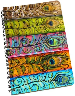 meSleep A5 Notebook(Peacock NBA5-01-172, Multicolor)