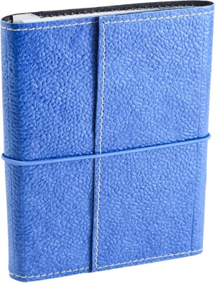Ecoleatherette A6 Journal(Handcrafted, Denim Blue)