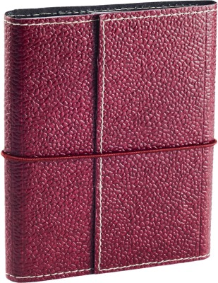 Ecoleatherette A6 Journal(Handcrafted, Cherry)