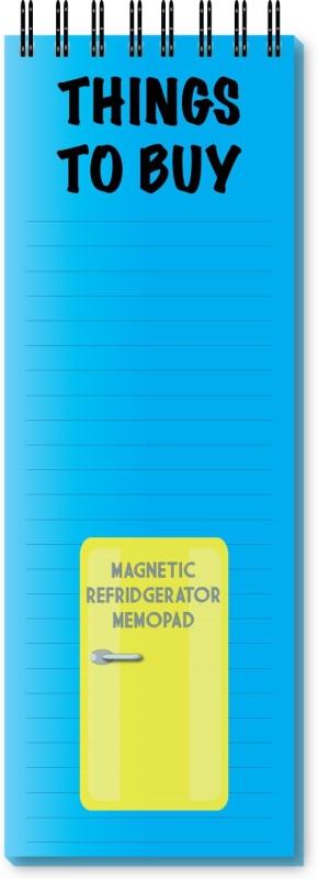 Nourish Regular Memo Pad(Things To Buy Magnetic Refrigerator, Blue)