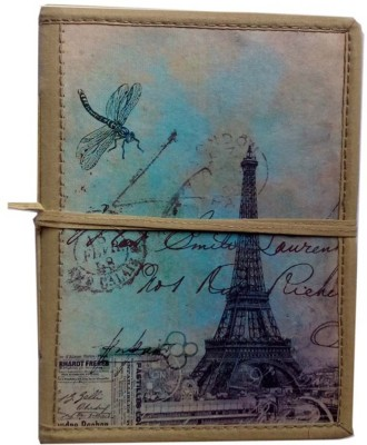 Craft Play Eiffel Tower Blue Regular Journal Hand Sewn