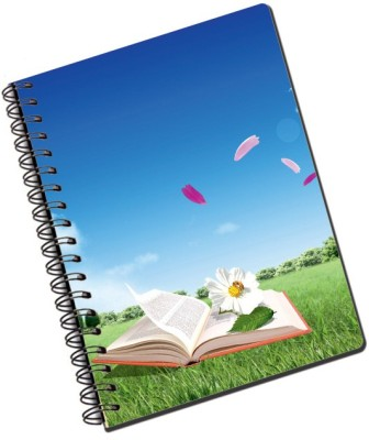 Lycans Books A5 Notebook Spiral Bound