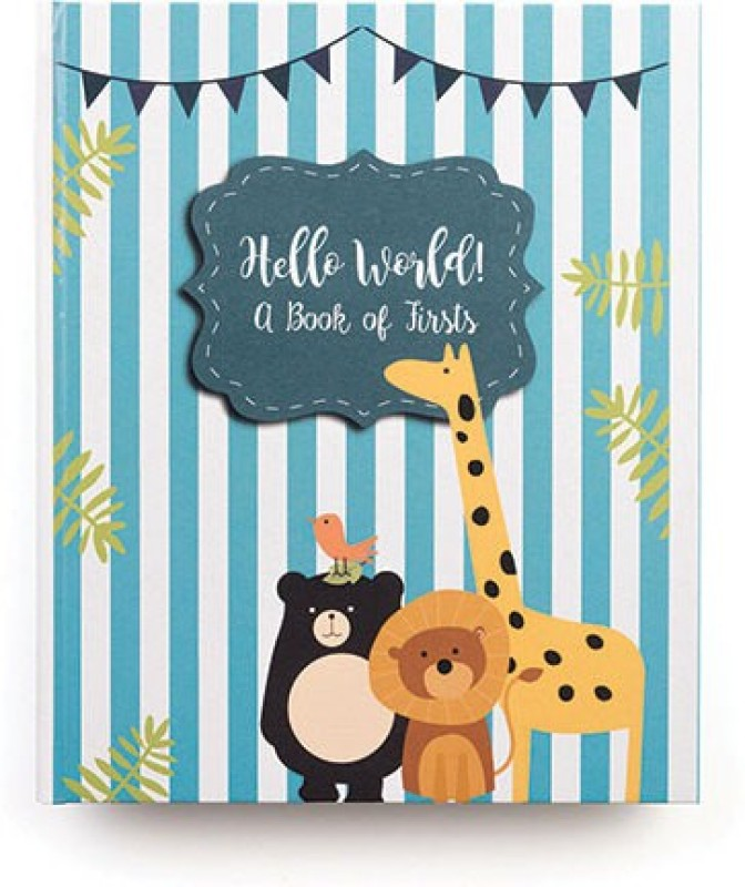 The Papier Project A4 Organizer(Baby Book, Blue, Yellow, White)
