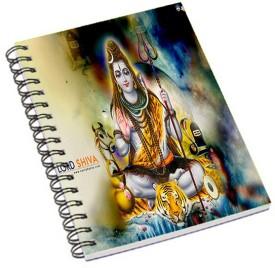 Shopmania A5 Notebook(Lord Shiva 2, Multicolor)