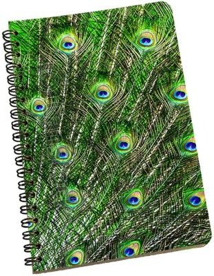 meSleep A5 Notebook(Peacock NBA5-01-184, Multicolor)