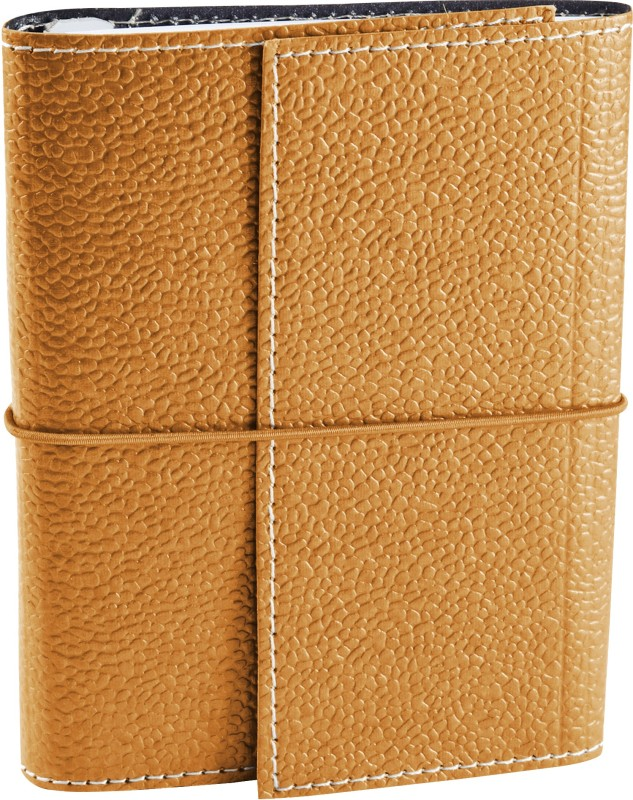 Ecoleatherette A6 Journal(Handcrafted A6 Journal, Royal gold)