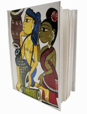 Indha Craft A6 Diary(Patachitra Art Print, Multicolor)