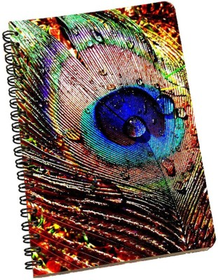 meSleep A5 Notebook(Peacock NBA5-01-238, Multicolor)