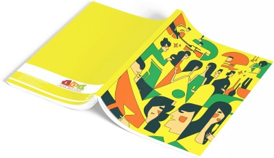 Live Out Loud A5 Notebook(Illustration Theme, Yellow)