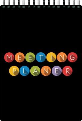 Nourish A5 Planner/Organizer(Meeting Planner, Black)