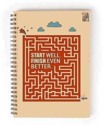 Utpatang A5 Notebook