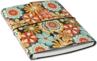 Ecoleatherette A5 Journal(Handcrafted, Multicolor)