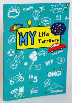 Blitzen A6 Memo Book(MLMT Set 5, Multicolor, Pack of 5)
