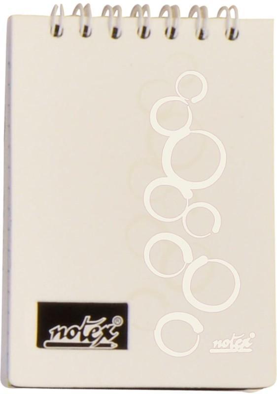 Notex A7 Memo Pad(Executive Pocket (Set of 4), White)