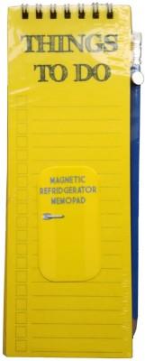 Its Our Studio Regular Memo Pad(Magnetic, Yellow)