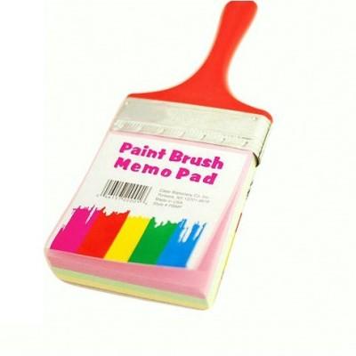 GeekGoodies Mini Memo Pad(Paint Brush Color, Yellow, Blue)