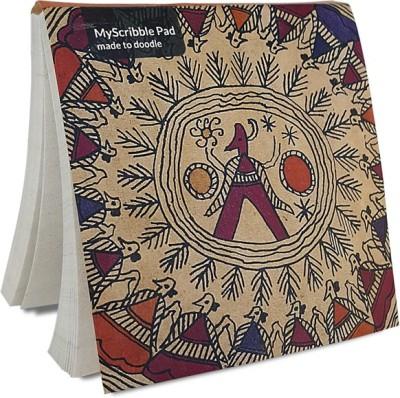 De Kulture Works Pocket-size Memo Pad(MyScribble Pad- Webbed, Multicolor, Pack of 3)