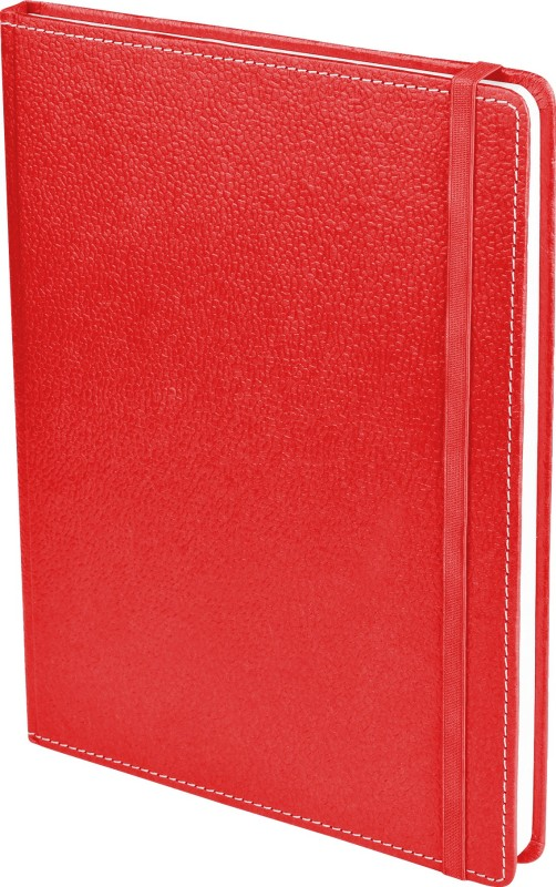 Ecoleatherette B5 Diary(Handcrafted, Red)