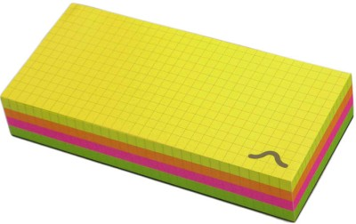 Rubberband Pocket-size Memo Pad(Block, Multicolor)