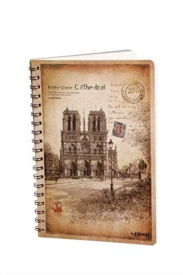 Pinnacle Assorted Journal(Cathedral Journal, Beige With Brown)