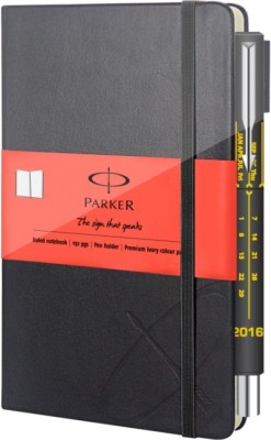Parker Small Notebook+Vectot Spl Edtn Calender Pen A6 Gift Set Hard Bound
