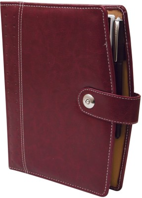 Imagine Products B5 Notebook(Folders, Cherry, Beige)