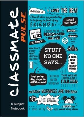 Classmate Pulse A4 Notebook Spiral Bound (Pack of 2)