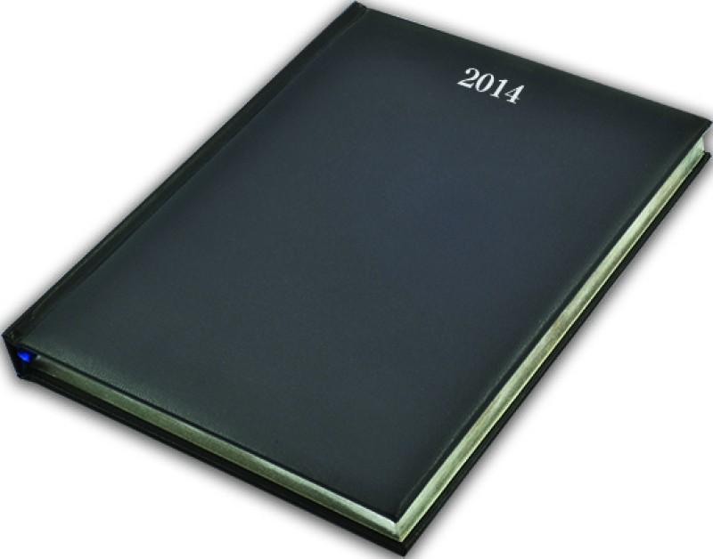 Livtek B5 Diary(Quarto DPP White Paper - 2014, Black)