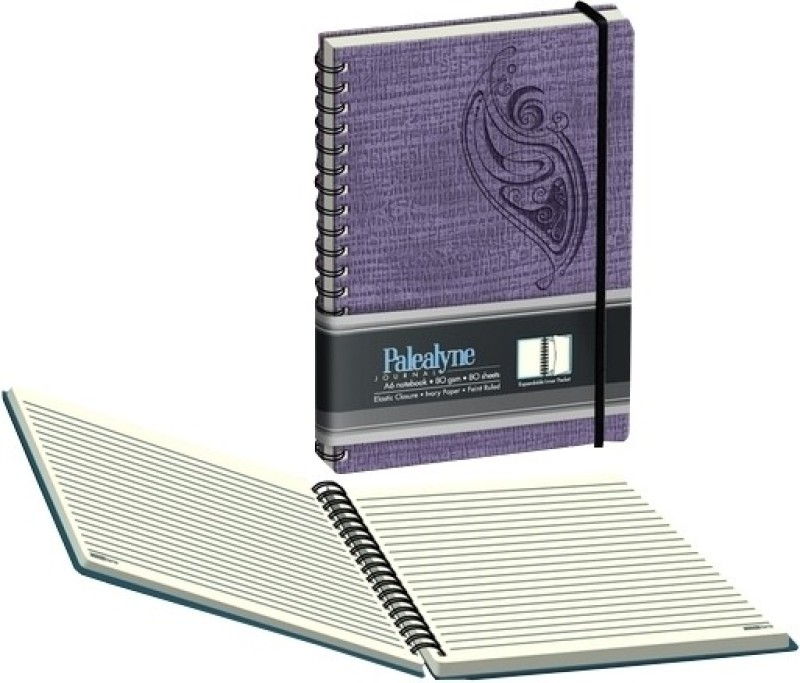 Campap A6 Notebook(Palealyne (Set of 2))