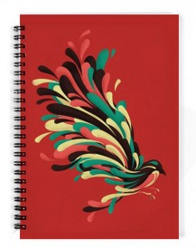 The Fappy Store avian A5 Notebook Spiral Bound
