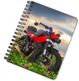 THE PALAASH Printed A5 Notebook Spiral Bound