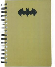 Batman Batman A5 Notebook Spiral Bound