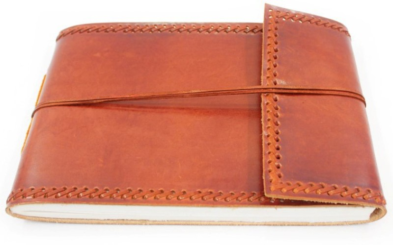 Lokalart Regular Visitor's Book(Customizable Leather Photo Album 7 X 5.5 Inches, Brown)