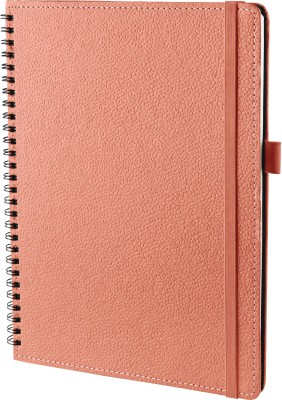 Ecoleatherette B5 Diary(Wiro, Sugar Coral)