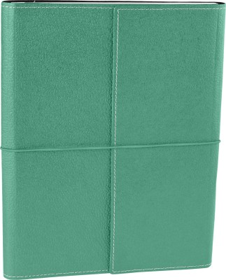 Ecoleatherette B5 Journal(Handcrafted, Columbia Green)