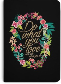 DailyObjects And Love What You Do A5 Notebook Paper Back