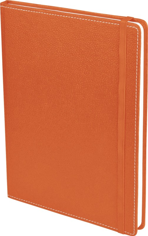 Ecoleatherette B5 Diary(Handcrafted, Brunt Orange)