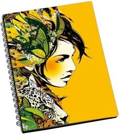SHOPMANIA DESIGNER NOTEBOOK A5 Notebook Spiral Bound