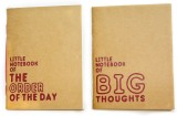 Ink and Graphite B7 Memo Book (Little Kr...