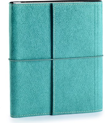 Ecoleatherette A5 Journal(Handcrafted, C.green)