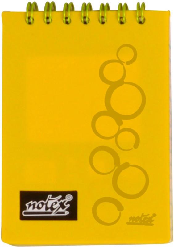 Notex A7 Memo Pad(Executive Pocket (Set of 4), Yellow)